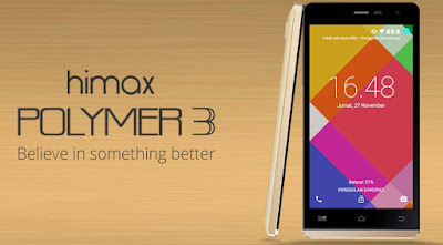 Himax Polymer 3, Didukung Slot MicroSD Untuk Ekspansi Memori Eksternal Hingga 32GB Dibanderol Seharga Rp. 1,1 Juta