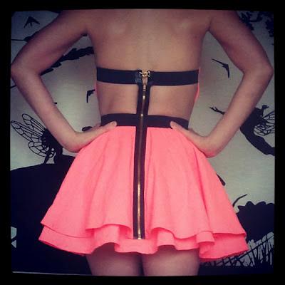 pink dress backless cheap graduation