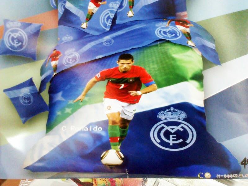 Sprei Anak Pemain Bola Motif Christiano Ronaldo