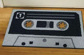 Tapete personalizado de fita cassete