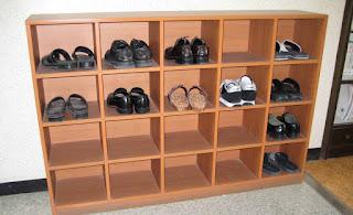 gambar desain rak sepatu