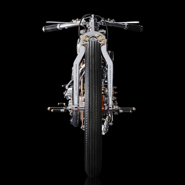 Japanese designer Chicara Nagata's Million Dollar Motorcycles