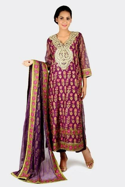 Open Shirt Salwar Kameez