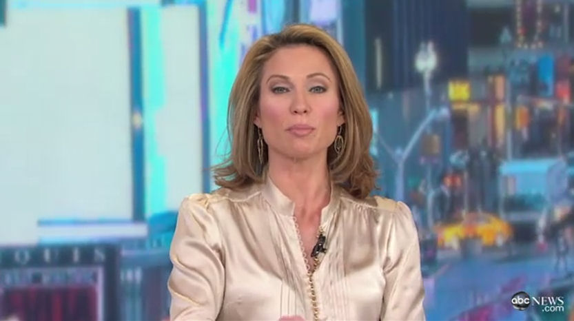 Amy Robach Various Blouses   Short Hairstyle 2013