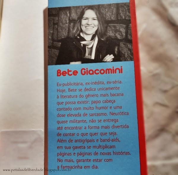 Diário de uma hipocondríaca, Bete Giacomini, editora Dublinense, sobre a autora, hipocondria, livro, resenha
