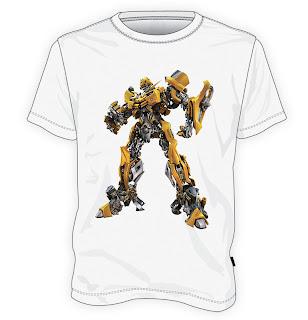 Koszulka Transformers robot