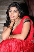 Sowmya glamorous half saree photos-thumbnail-5