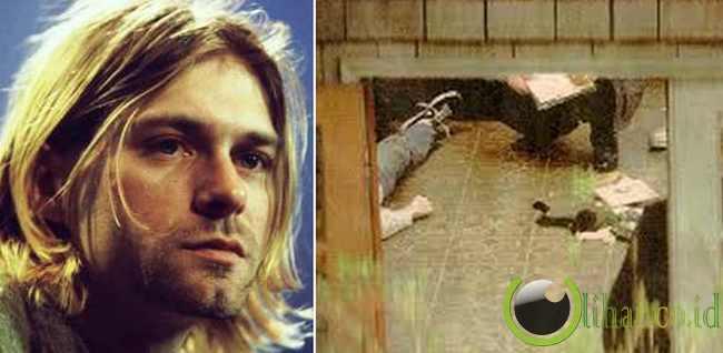 Kurt Cobain Konspirasi di Balik Kematiannya