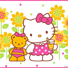 Download wallpaper Hello Kitty @ Digaleri.com