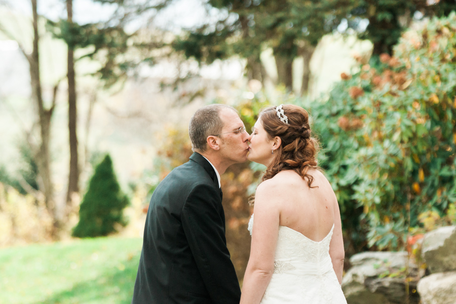 Leah + Chuck's Intimate Mountain Wedding at Banner Elk Winery | NC Elopement Photography