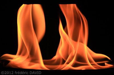 spectacle feu noctambules pots installation cie carabosseChamarande Essonne