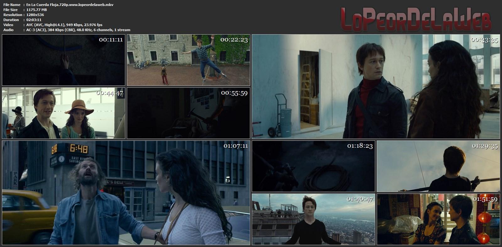 En La Cuerda Floja BRrip 720p Latino (2015) [Mega]