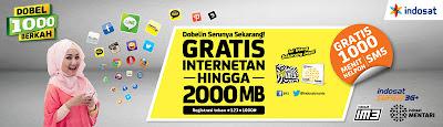 Double Berkah Indosat Agustus 2013