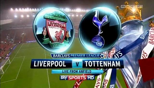 Prediksi Skor Liverpool vs Tottenham 29 Maret 2014 - Liga Inggris