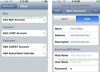 Email With iPhone Mail App