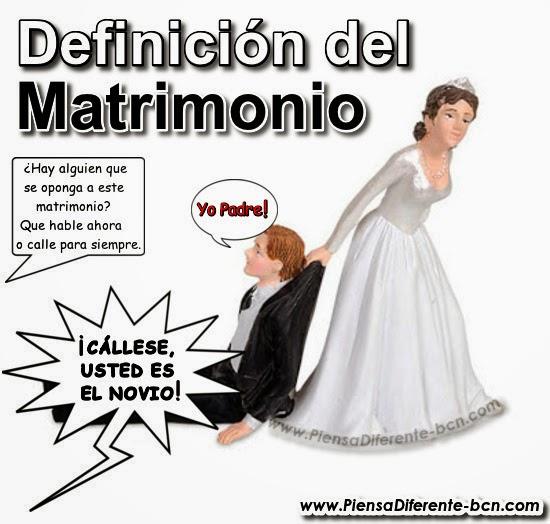Matrimonio Catolico Definicion : Piensa diferente definiciÓn del matrimonio