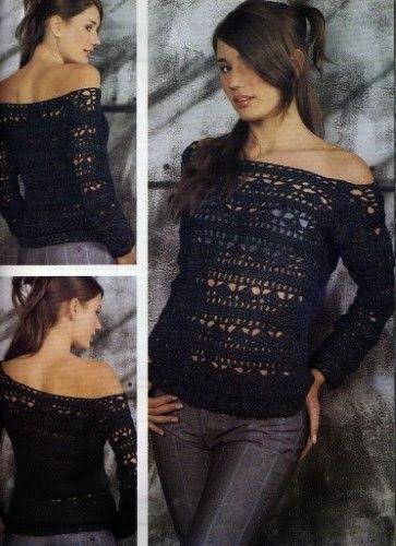 Yeni Moda Bayan Örgü Kazak Modelleri