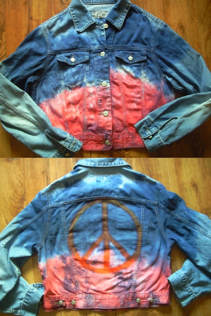 diy galaxy hippie jeans rock kosmos tie dye moda