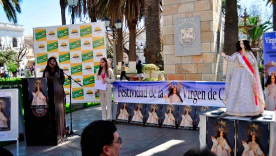 Presentan la fiesta de la Virgen de Chaguaya y hacen mejoras al Santuario