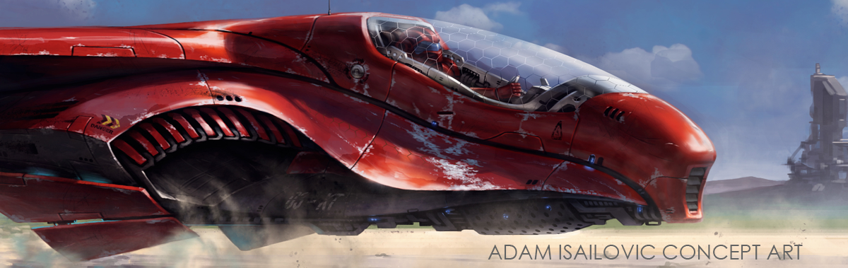 Adam Isailovic Concept Art and Illustration Blog