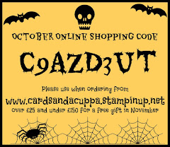 Hostess Code for your October Stampin' Up! Shopping