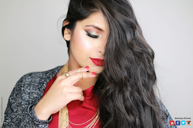 Shahnaz Shimul - New Year Glam Party Makeup