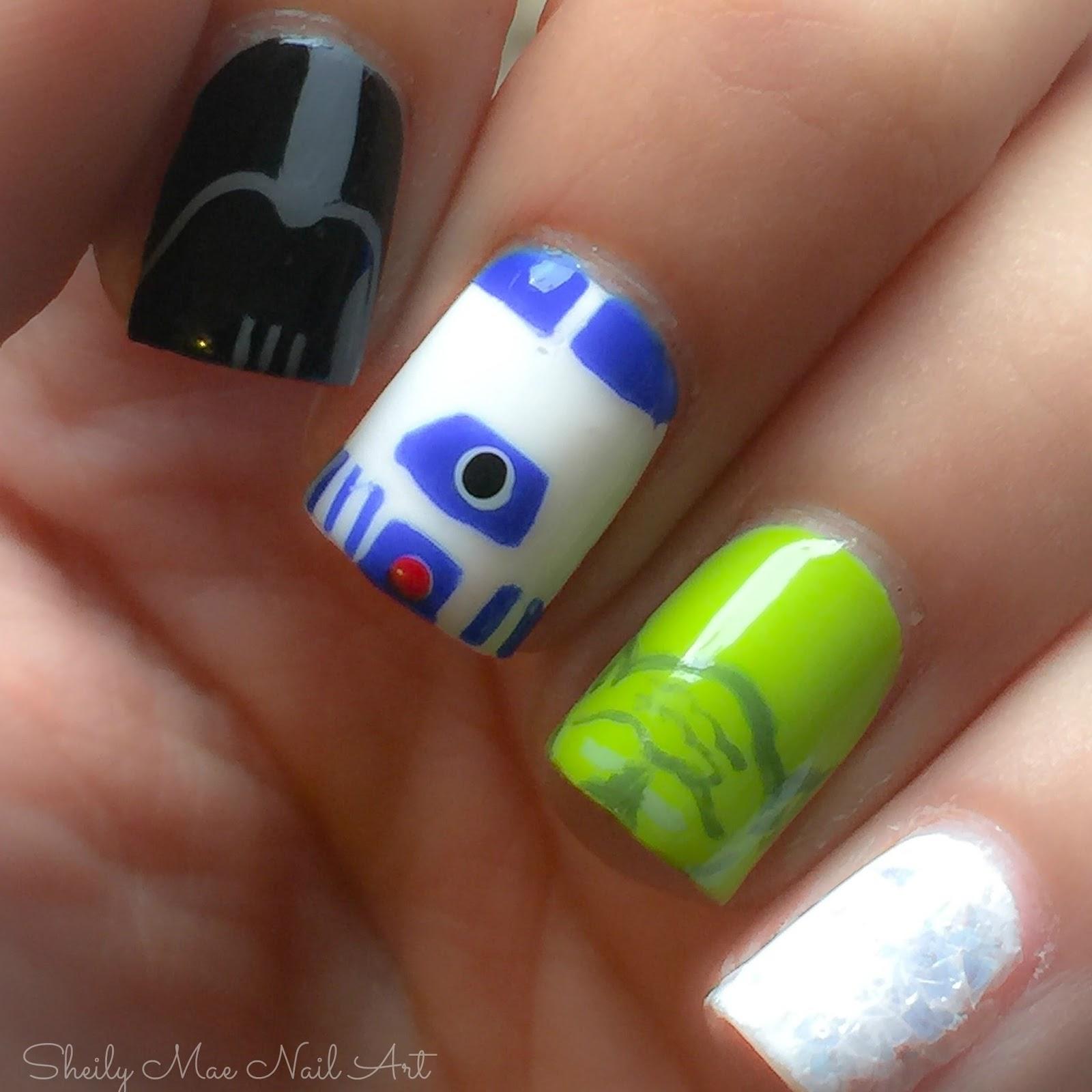 Star Wars Nail Art - Sheily Mae Nail Art