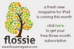 Flossie ... a fresh, new magazine for iPads!