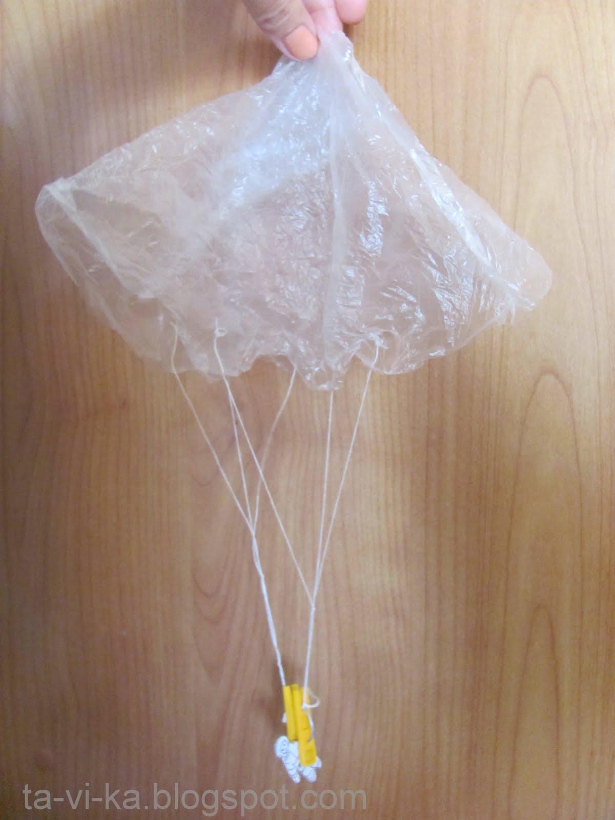 Игрушечный парашют » Сделай сам своими руками 96