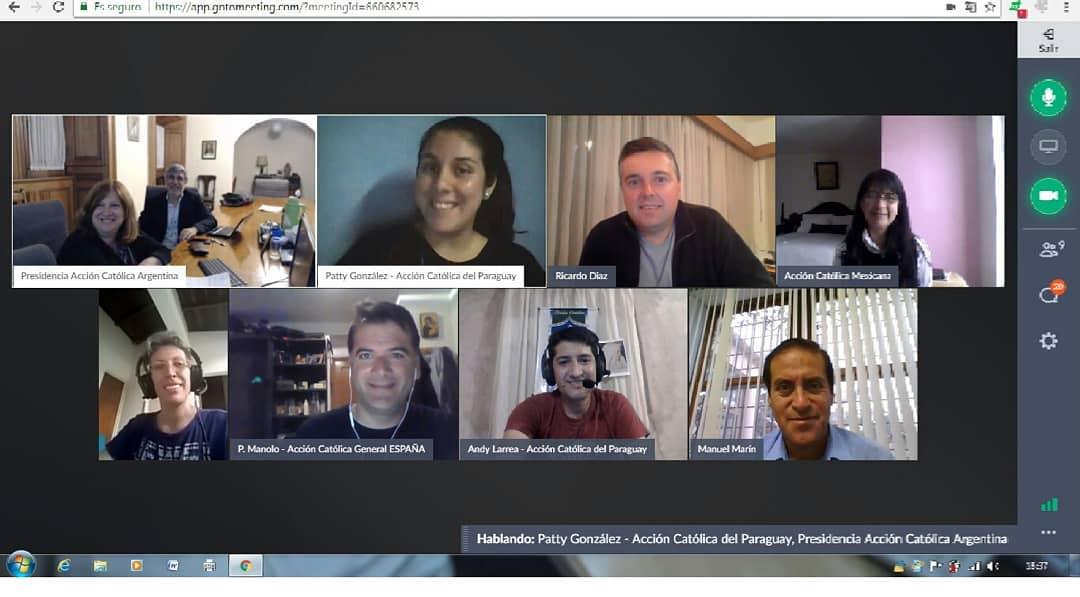 Reunión Virtual del FIAC América 09/05/2018.