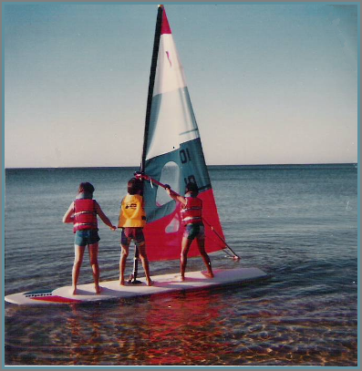 Those windsurfing days...