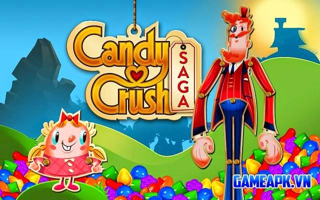 Candy Crush Saga v1.38.0 hack full cho Android
