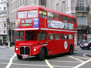 Red bus