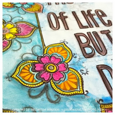 Art Journal Page by Catherine Scanlon for Sizzix