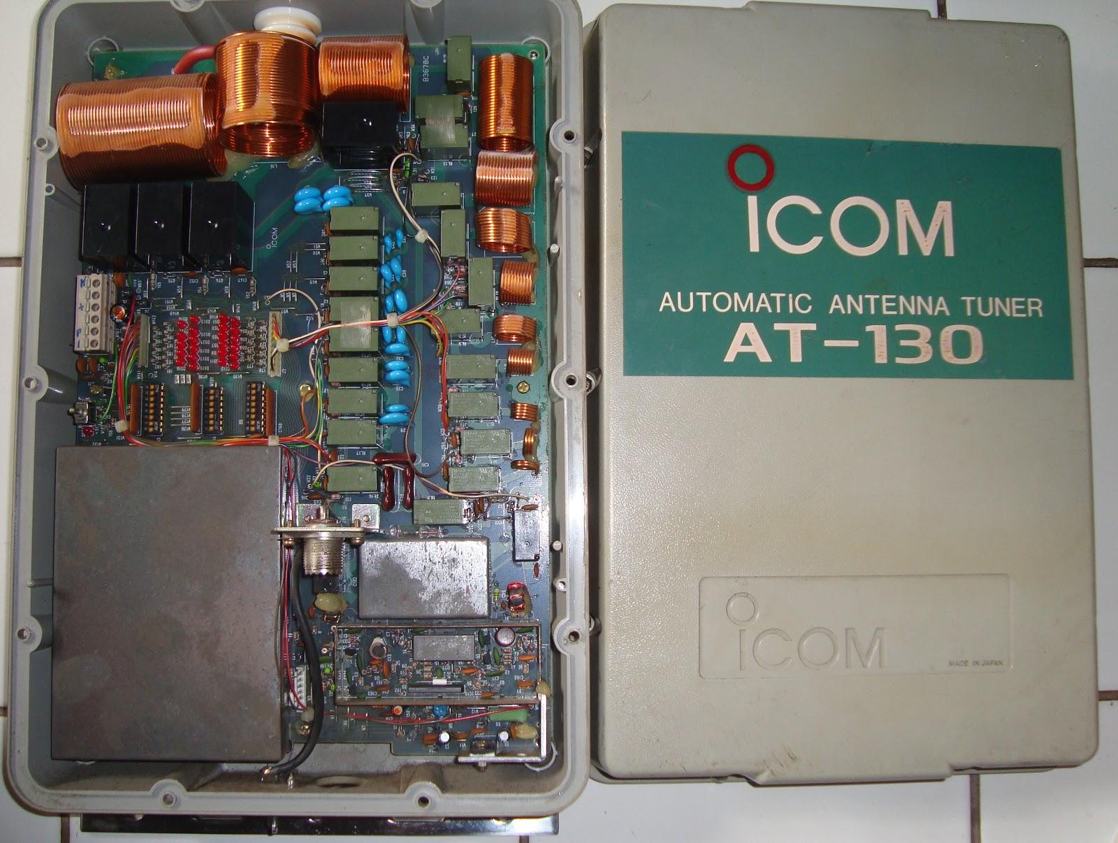 Radio Seller  Automatic Antenna Tuner Icom At 130   Sold