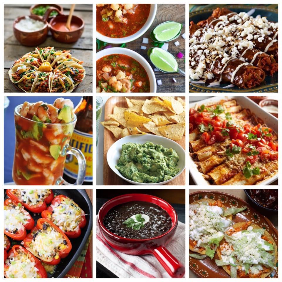 comida mexicana pozole