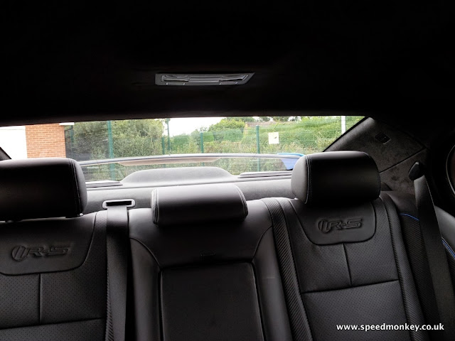 2013 Jaguar XFR-S rear seats