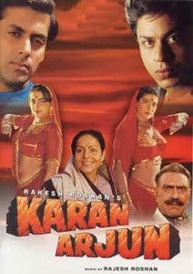 Karan Arjun 1995 Hindi Movie Watch Online