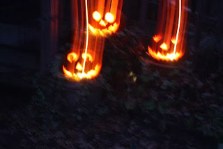photo of halloweeny ghosts