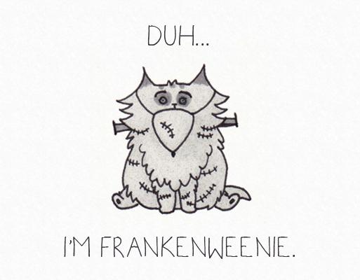 Halloween Frankenweenie