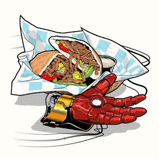 Joshua Budich, Fictional Food, cultura pop, comida, food