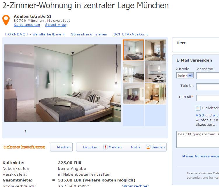 m blierte 2 zimmer wohnung mit internet 2 zi wohnung ca 70 m. Black Bedroom Furniture Sets. Home Design Ideas