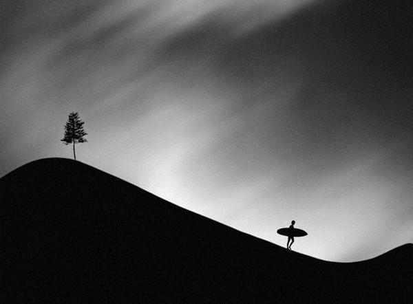 fotografi hitam putih cantik