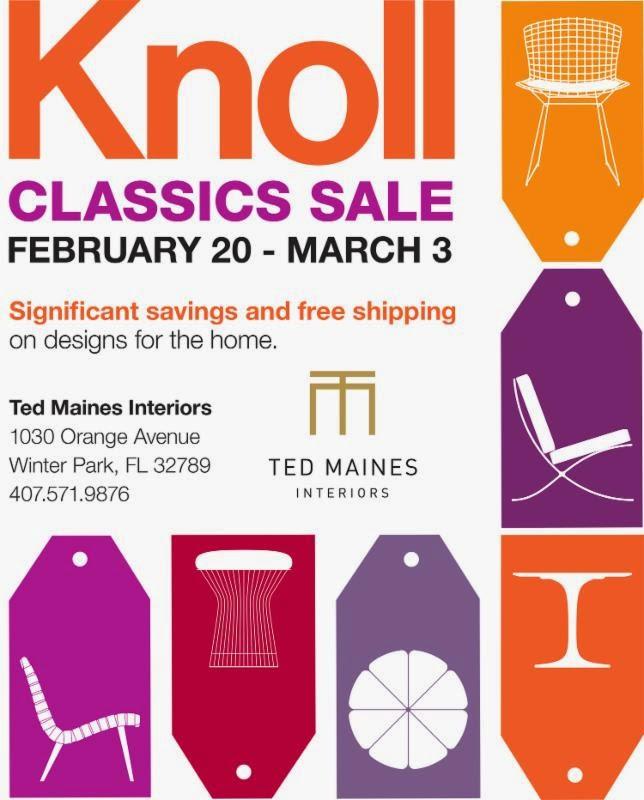 Knoll Classics Sale