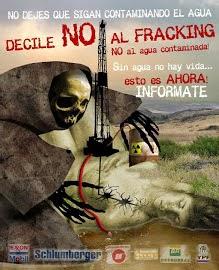 No a la fractura hidráulica