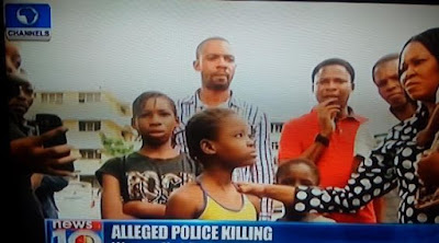 Children of Mr & Mrs Ekpo who were killed by police officer Musiliu Aremu.