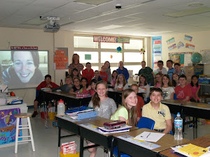 Skyping with Laurel Snyder!