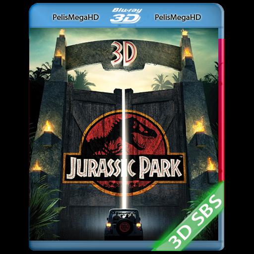 Jurassic Park (1993) 3D SBS 1080P HD MKV ESPAÑOL LATINO