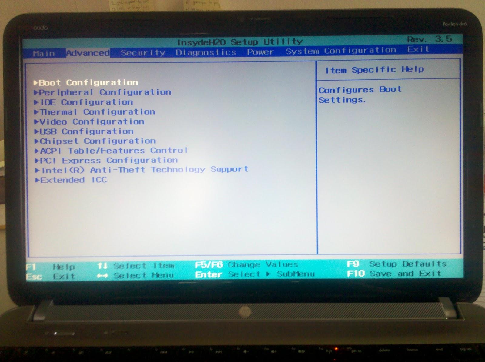 Не могу поставить в биосе загрузку с cd, биос 62
