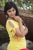 Aparna Glam pics in yellow top-thumbnail-11